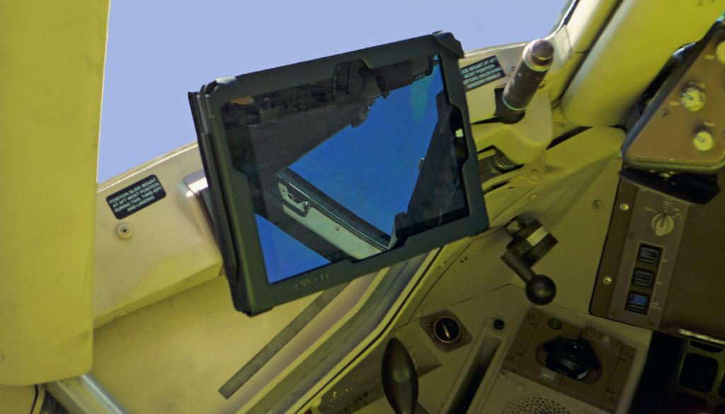 Boeing 757 iPad